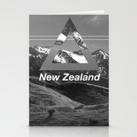 new zealand Stationery Cards featuring New Zealand by ztwede