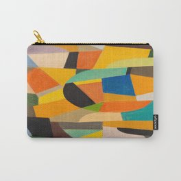 Otto Freundlich German Untitled, 1930–1935 Pastel Geometric Colorful Art Carry-All Pouch