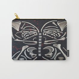 Butterfly Skeleton Carry-All Pouch