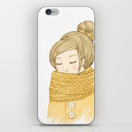 My Cozy Mood iPhone Skin