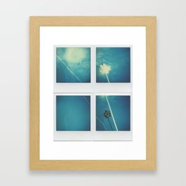 Albino Palm Framed Art Print