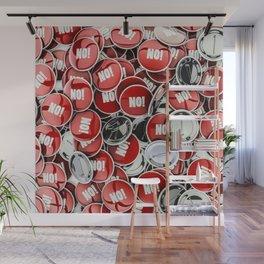 NO! Wall Mural
