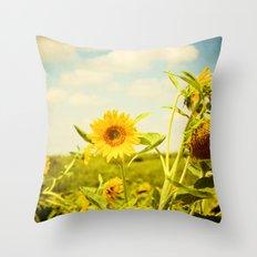 Yellow Throw Pillow