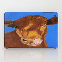 cow iPad Cases featuring Cow by maggs326