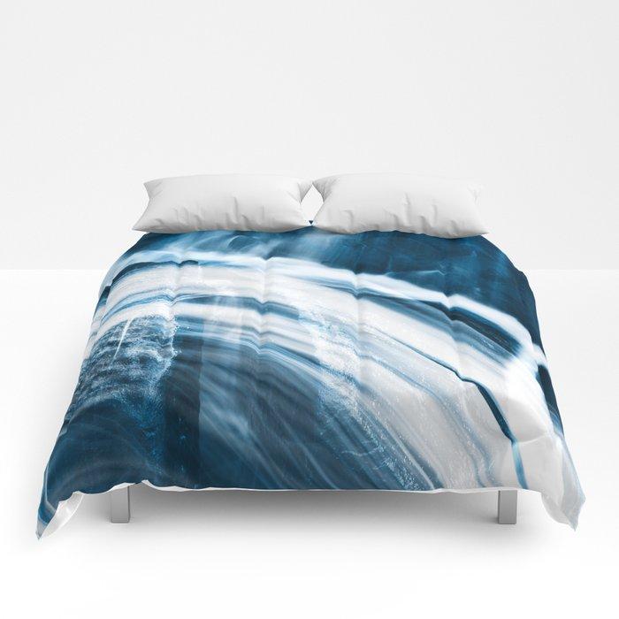 Blue Banshee Falls Comforters