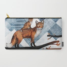 Fox Wood Carry-All Pouch