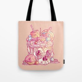 Skull No.3 // The Yummy One Tote Bag