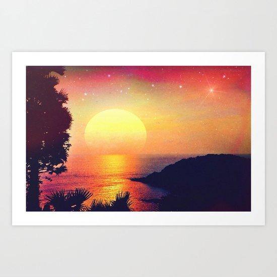 Morning Dreams II. Art Print