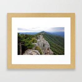 North Fork Trail 1 Framed Art Print