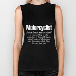 Motorcyclist Mens Funny Biker Superbike motorcycle Biker Tank