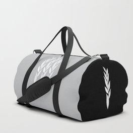Eternity in Silver Leaf Duffle Bag