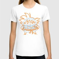 goku T-shirts featuring Cheeseburger Goku by Philip Tseng