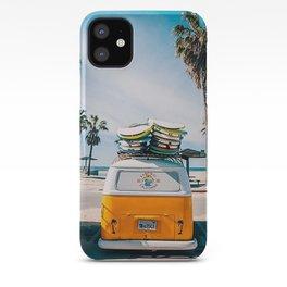 Combi van surf iPhone Case