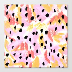 Dreams of Summer Abstract Canvas Print