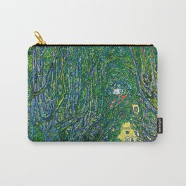 Avenue in the Park of Schloss Kammer, by Gustav Klimt Carry-All Pouch