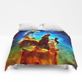 Pillars of Creation Comforters