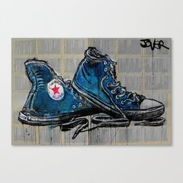 well worn heroes Canvas Print