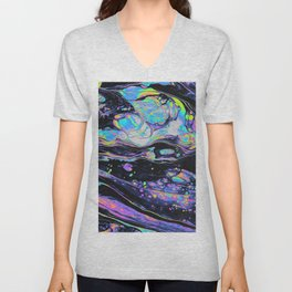 GLASS IN THE PARK Unisex V-Neck