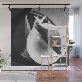 Around a moon Wall Mural