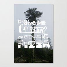 give me liberty... Canvas Print