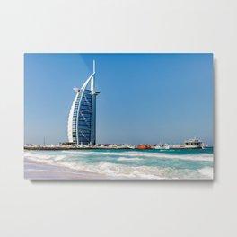 Dubaï, Burj Al Arab An eternal sensation Metal Print