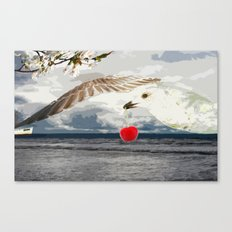 Say what you sea Canvas Print