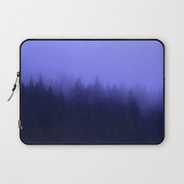 Periwinkle Fog 0367 - Seward, Alaska Laptop Sleeve