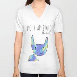 Me, I Am Bidule - I Unisex V-Neck