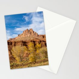 City on a Hill - Capitol Reef National Park Stationery Cards