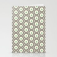 honeycomb Stationery Cards featuring Honeycomb by Tayler Willcox