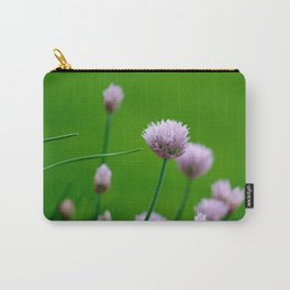Macro Chive Blossoms 1 Carry-All Pouch