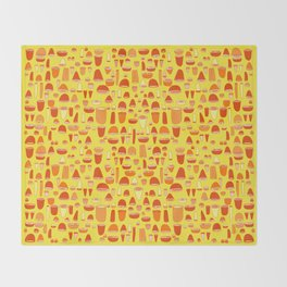 Shells & Rounds - Citrus Charge Throw Blanket