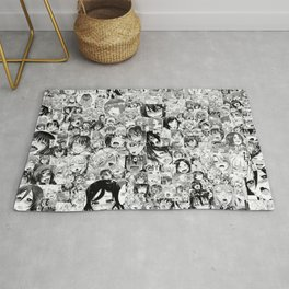 Japaness collage image Rug