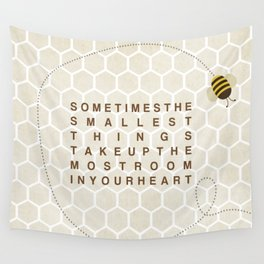 smallest things Wall Tapestry