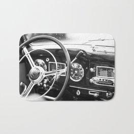 Classic Car Interior Bath Mat
