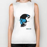 kraken Biker Tanks featuring Kraken by Madera Arts