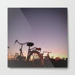 #bike Metal Print
