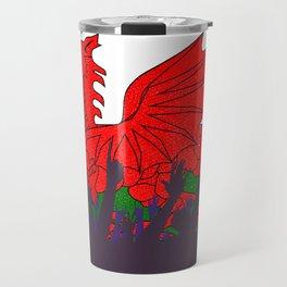 Welsh Flag with Audience Travel Mug