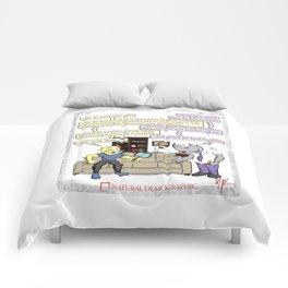 Natural Demographic #2 Comforters