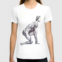 runner T-shirts featuring Runner by Eugene G