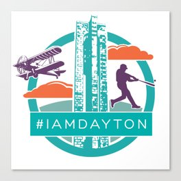 I Am Dayton - History - Color Canvas Print
