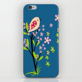 The song of the bird iPhone Skin