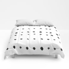Modern boho dot Comforters