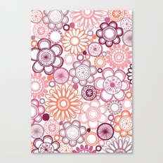 BOLD & BEAUTIFUL girlie Canvas Print