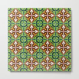 Seamless tile pattern Metal Print