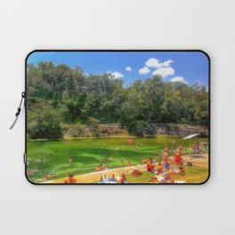 Barton Springs at Zilker Park - Austin, Texas Laptop Sleeve
