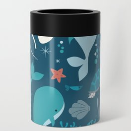 Sea creatures 004 Can Cooler
