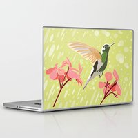 hummingbird Laptop & iPad Skins featuring Hummingbird by Ornaart