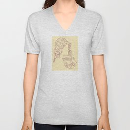 Distopian Dream Girl-Built To Spill Unisex V-Neck