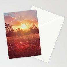 Park Sunset Stationery Cards